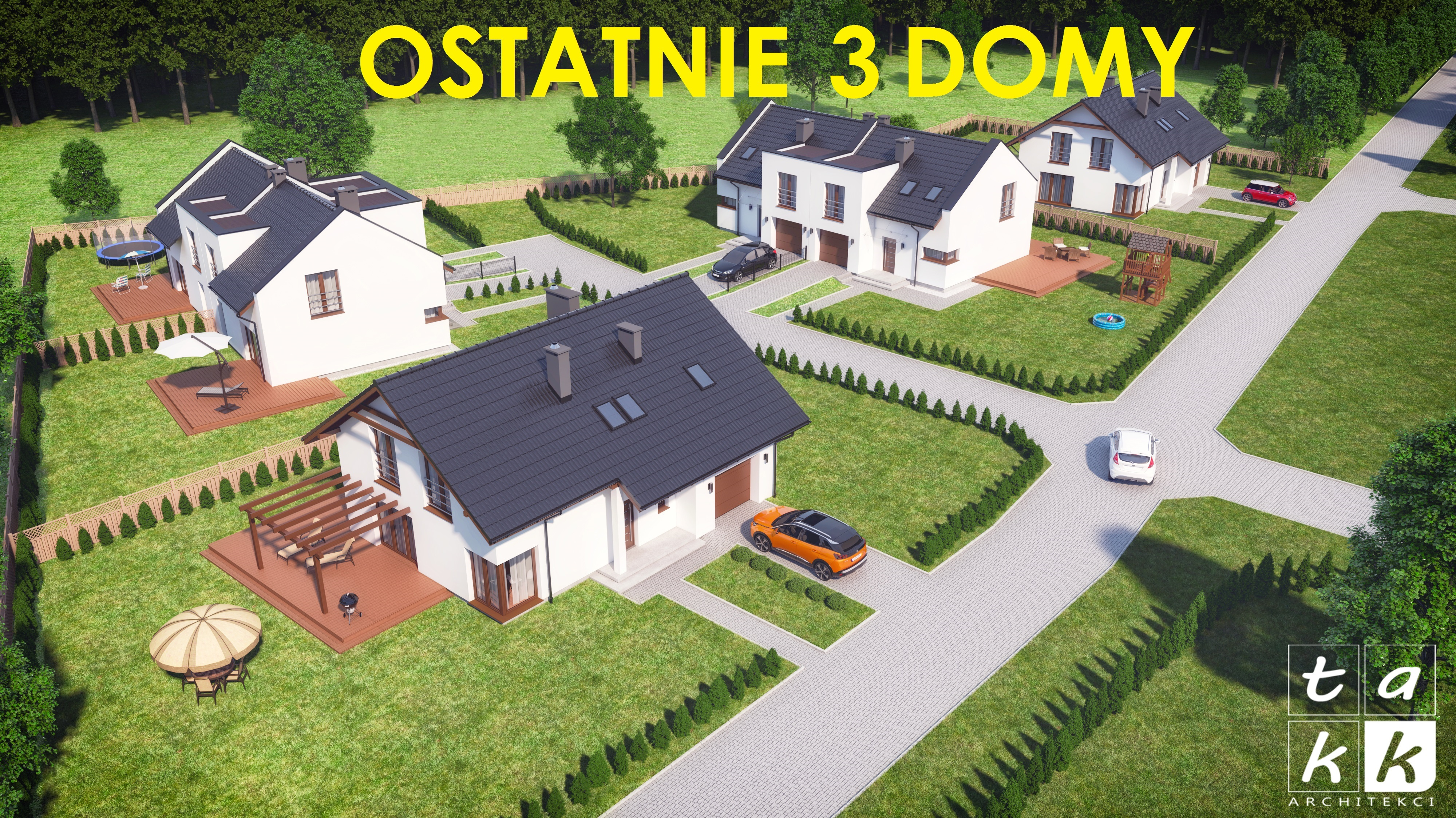 ostatnie 3 domy